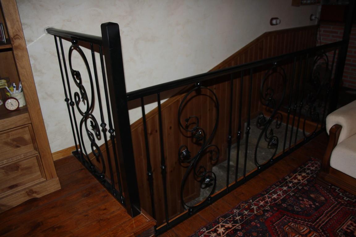 Escaleras De Hierro Barandillas De Hierro Balcones De Hierro  ~ Barandillas De Forja Para Escaleras De Interior